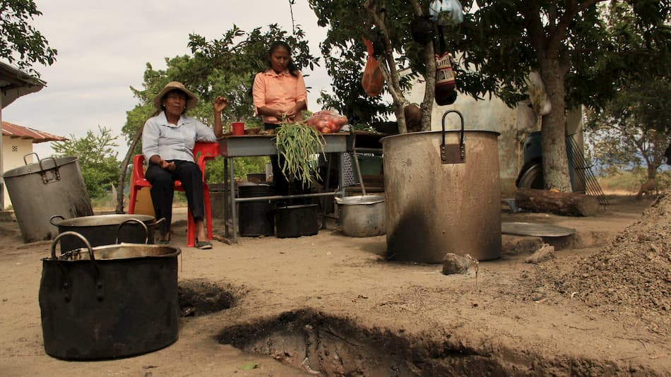 Mobilisation in Catatumbo