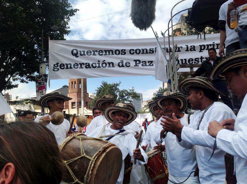 Movilización en Barranquilla