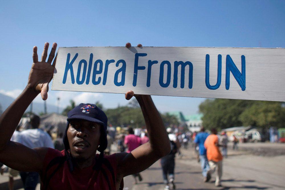 Denuncia por Cólera en Haití