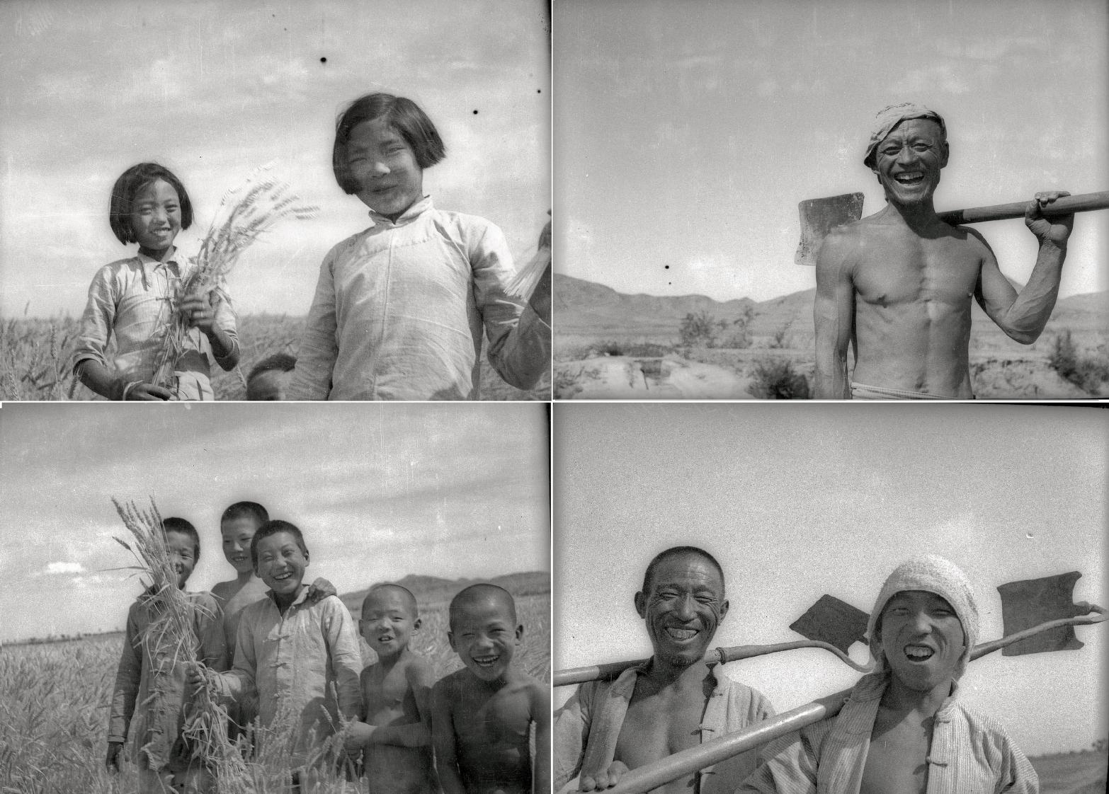 Gao Liang, 'The People Who Got Land', June 1948