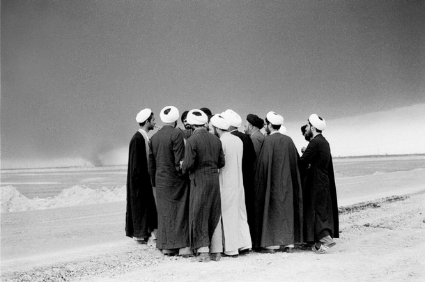 Kaveh Golestan, Mullahs at the front near Abadan, Iraq-Iran War, 1983