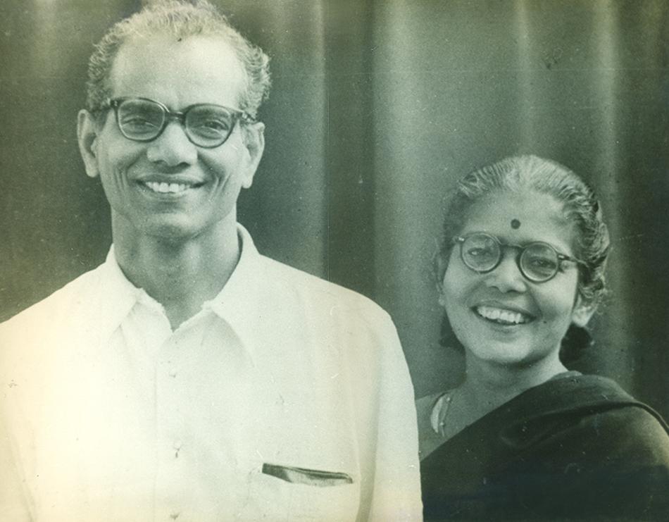 Comrade P. Sundarayya and comrade Leela