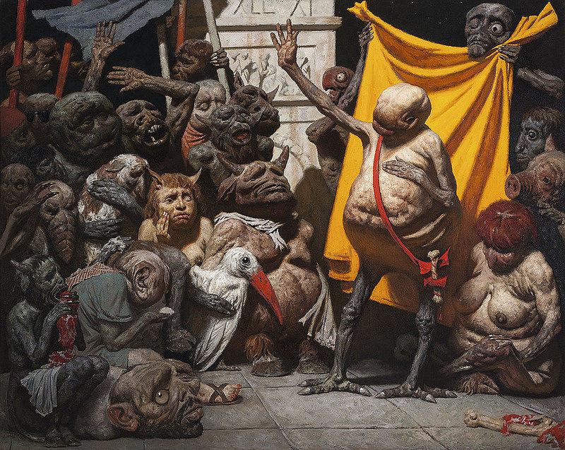Geily Korzhev, Mutants, 1990-93.