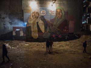 Mahavir Singh Bisht, Grafitti by Silo Shiv Suleman at Shaheen Bagh, New Delhi, 2020.