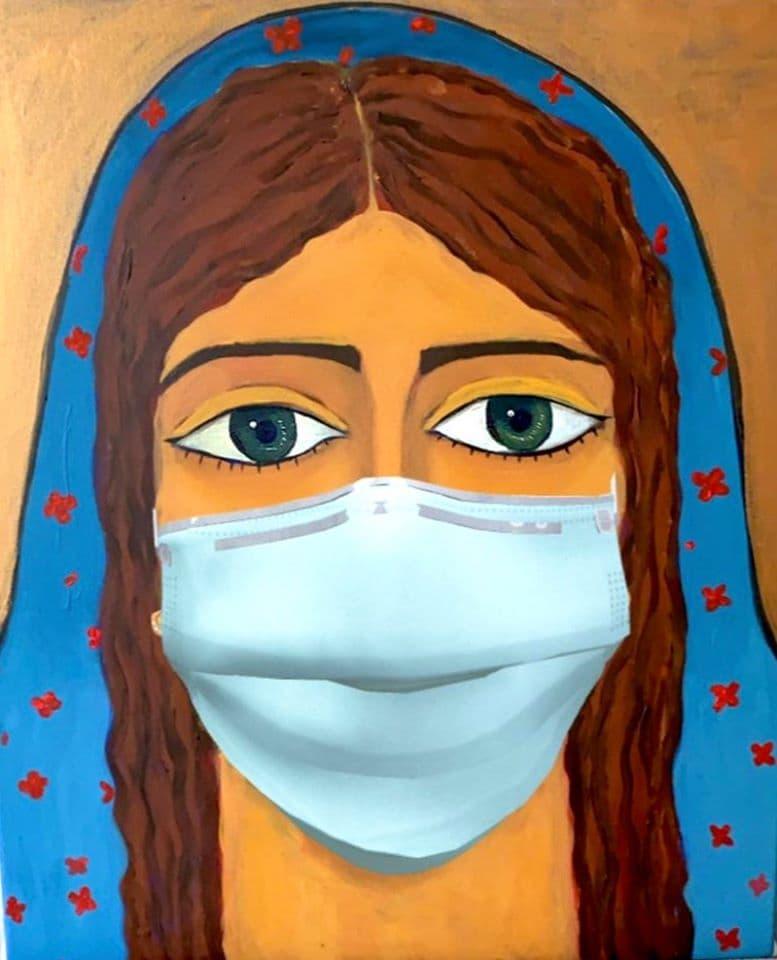 Malak Mattar, Gaza lockdown before the coronavirus, 2020.