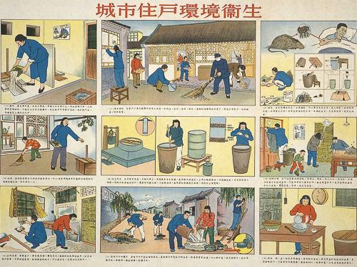 Environmental sanitation of city residents, 1952