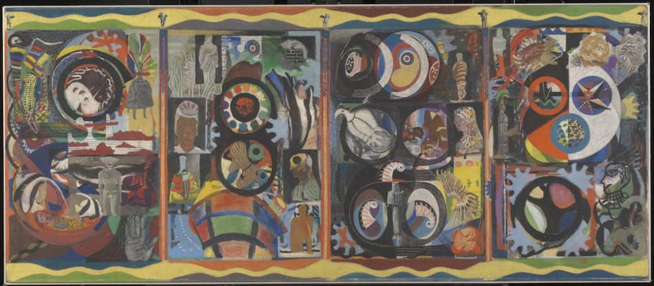 Eileen Agar, The Autobiography of an Embryo, 1933-34.