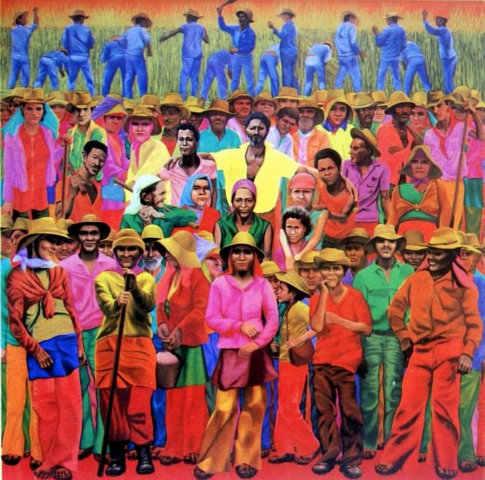 Gontran Guanaes Netto, O povo da terra dos papagaios (The people of the land of the parrots), 1982