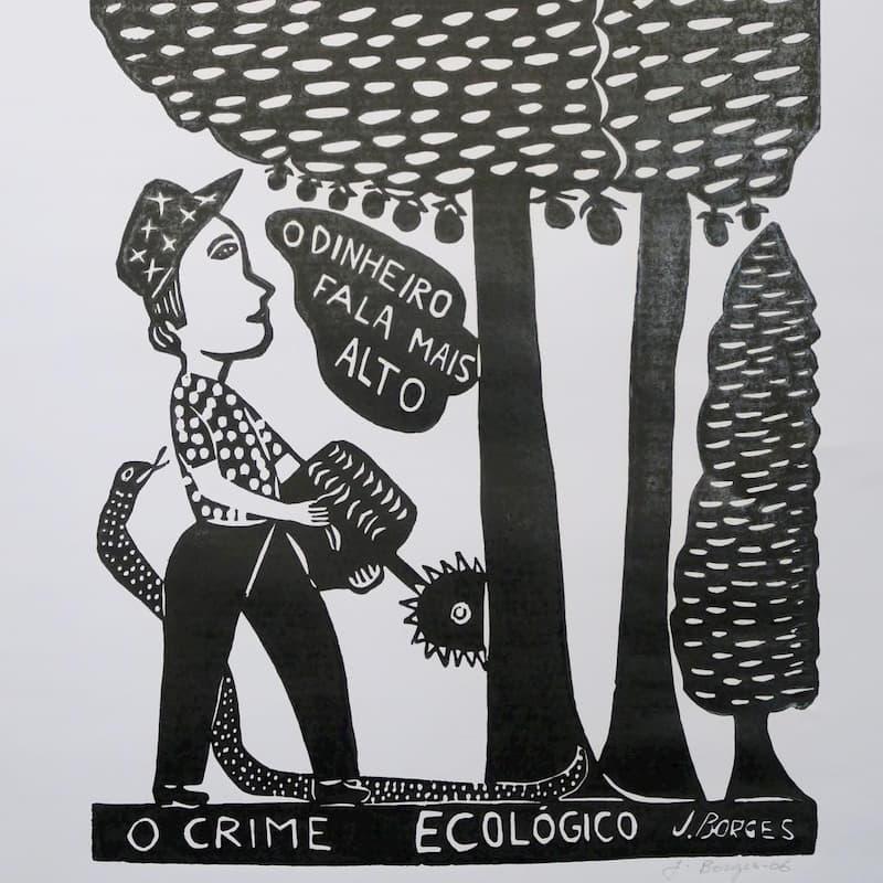 José Francisco Borges, O Crime Ecológico