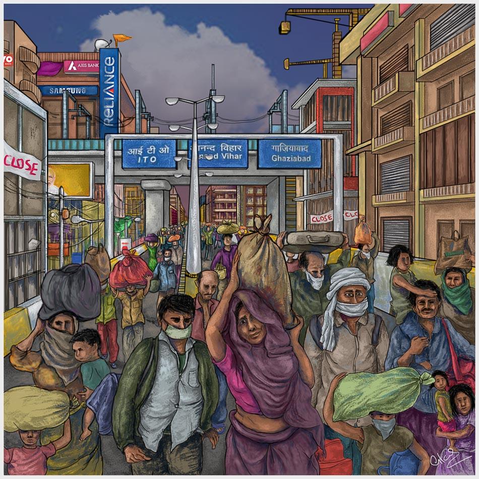 Vikas Thakur_Migrant Labour