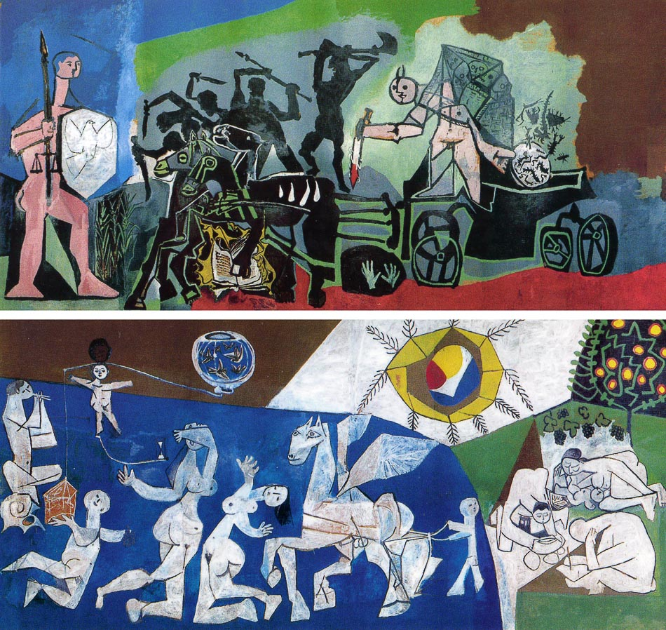 Pablo Picasso, War and Peace, 1952