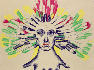 Marisol, Culture Head, 1975.