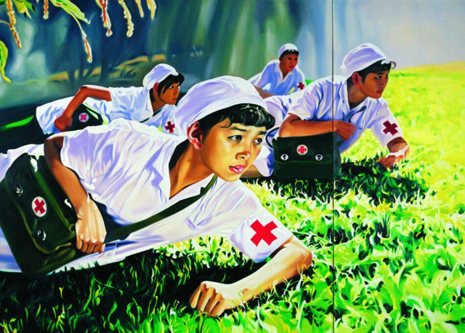 Jing Kewen (China), Dream 2008, N 1 (Nurses), 2008. larger
