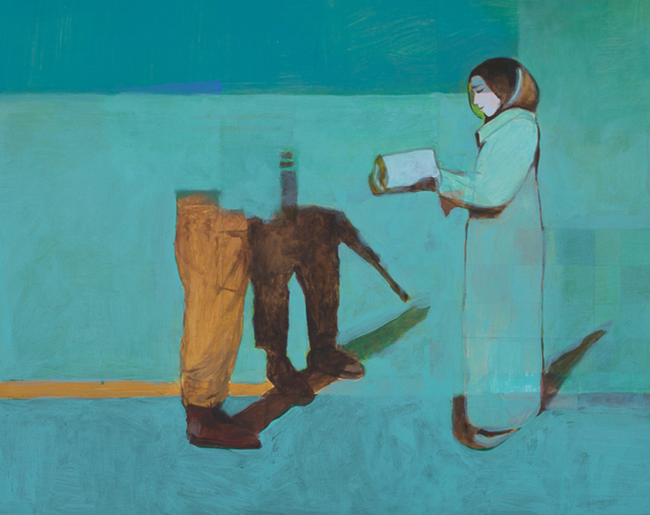 Khaled Hourani (Palestine), Suspicion, 2019.-2