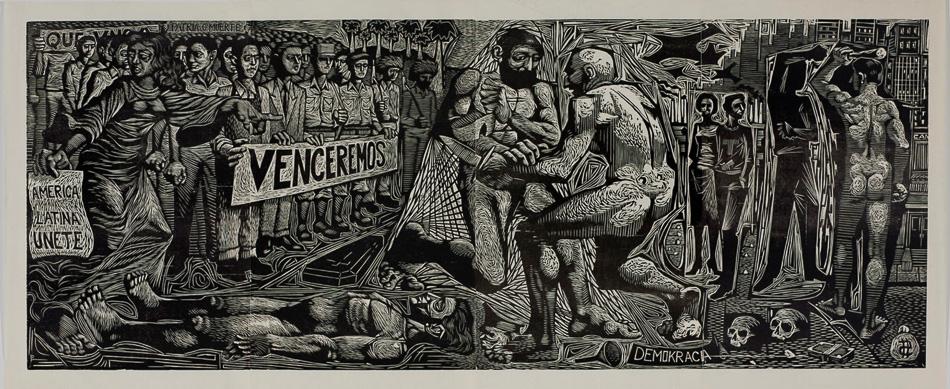 Luis Peñalever Collazo (Cuba), America Latina, Unete! 1960.-4