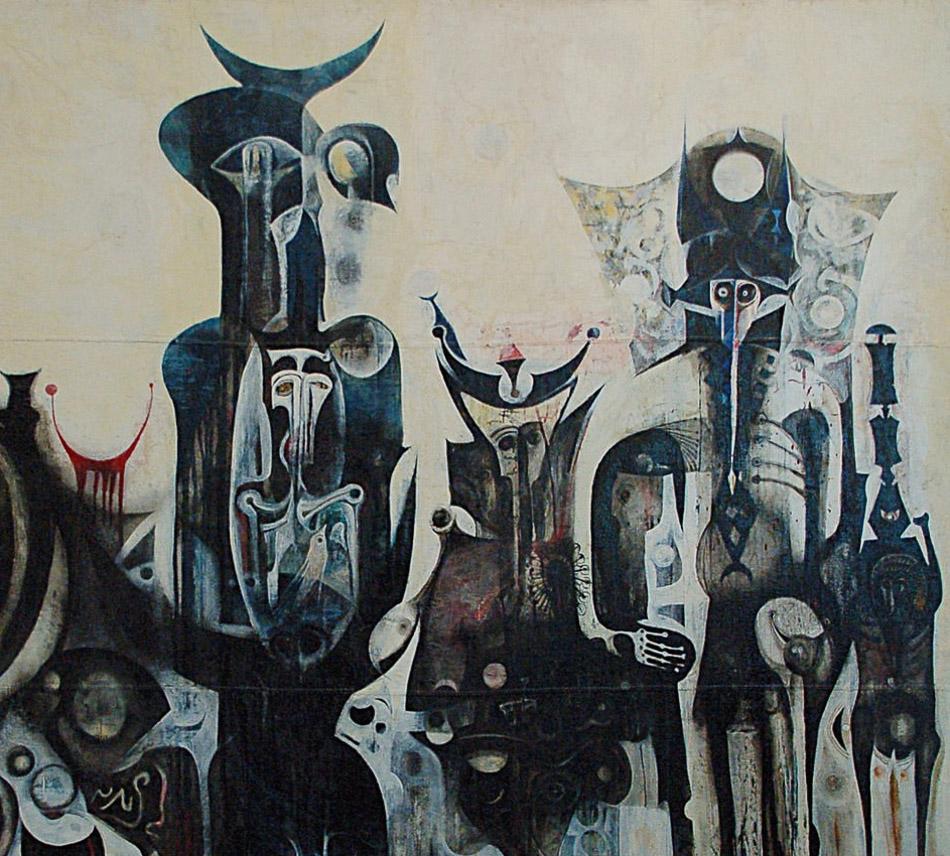 Ibrahim El-Salahi (Sudan), Reborn sounds of childhood dreams (1961-65).>