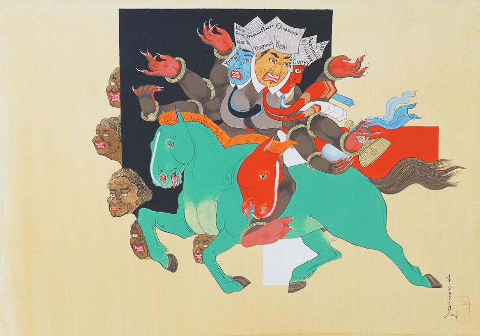 Baasanjav Choijiljav (Mongolia), Promise, 2018.