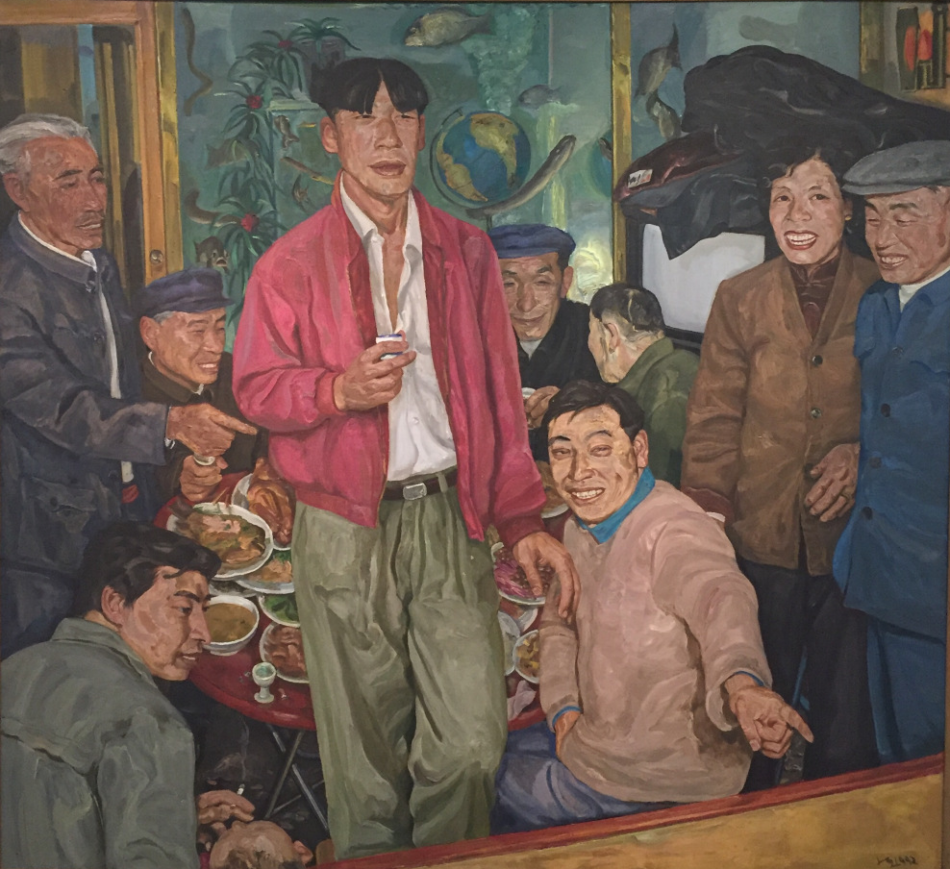 Liu Xiaodong (China), Wedding Party, 1992.