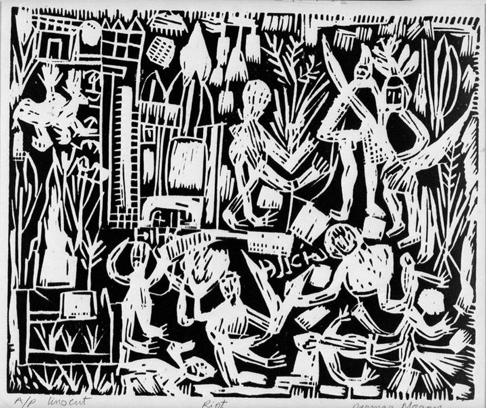 Parmar (India), Riot, 1965-1975.