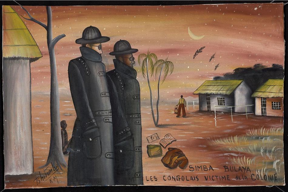 Tshibumba Kanda-Matulu (DRC), Simba Bulaya ('Lions of Europe'), 1973.