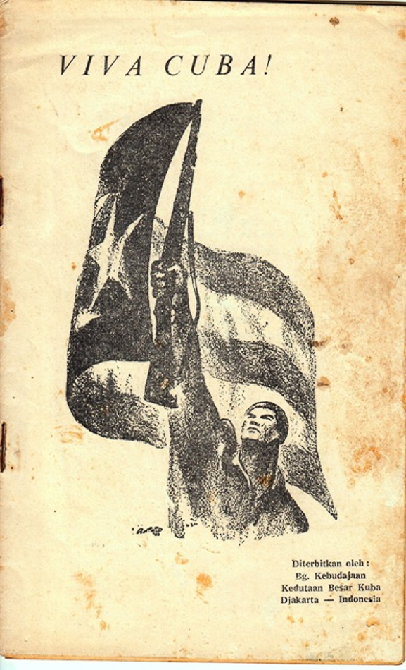 Viva Cuba, collection of Lekra poetry in homage to the Cuban Revolution, 1963.