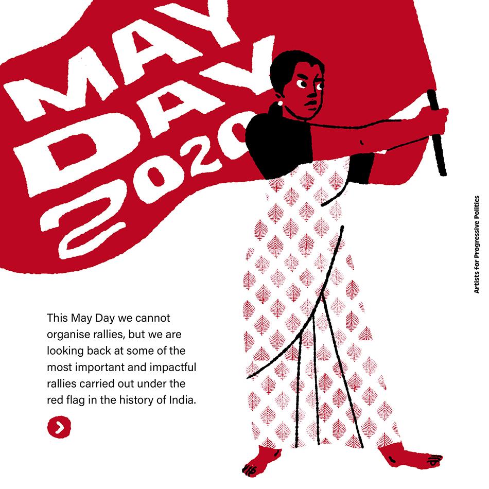 Kruttika Susarla / Artists For Progressive Politics (India), May Day, 2020