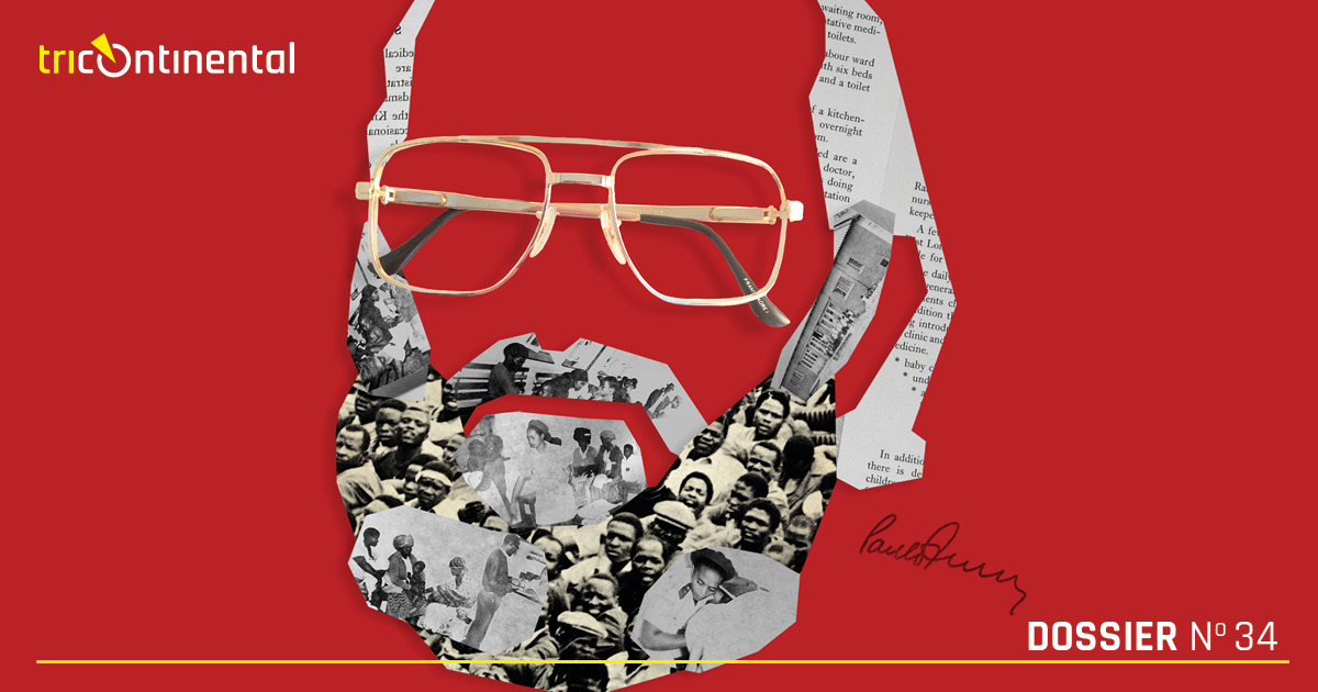 Cover of dossier 34: Paulo Freire and Popular Struggle in South Africa