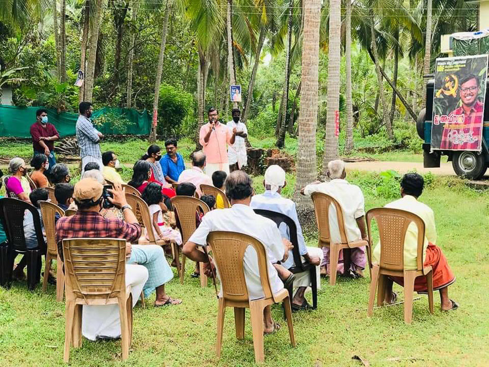 Afsal campaigns in Malappuram