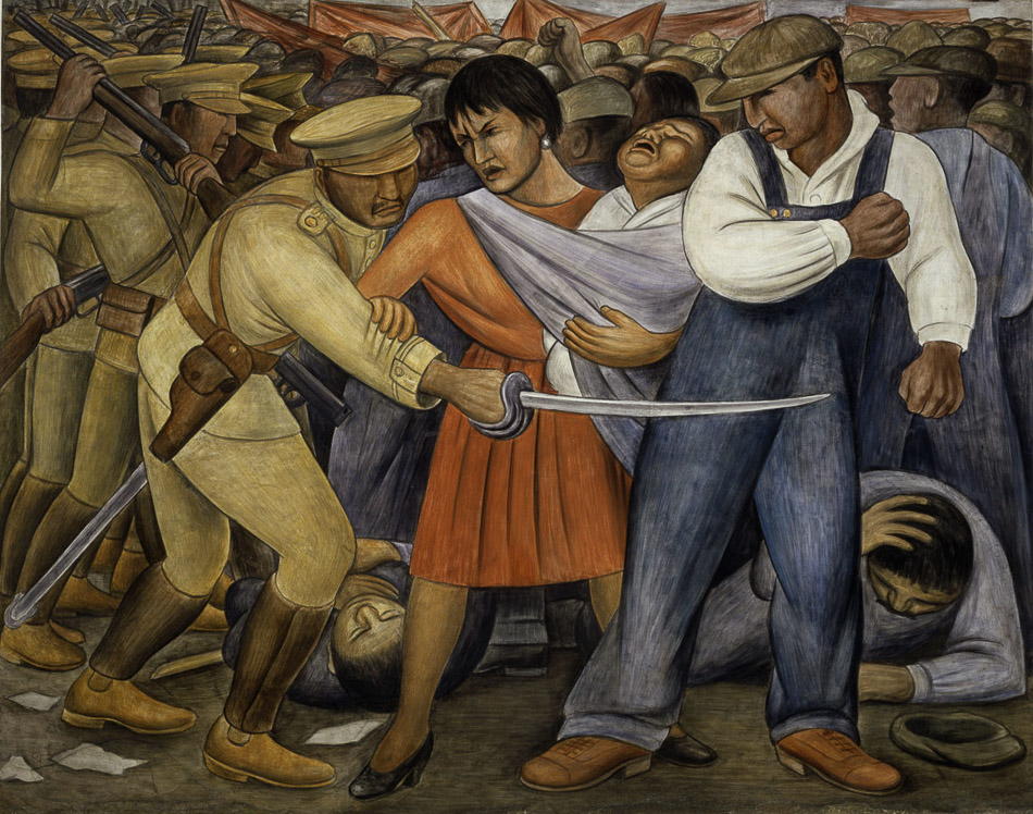 Diego Rivera (Mexico), The Uprising, 1931.