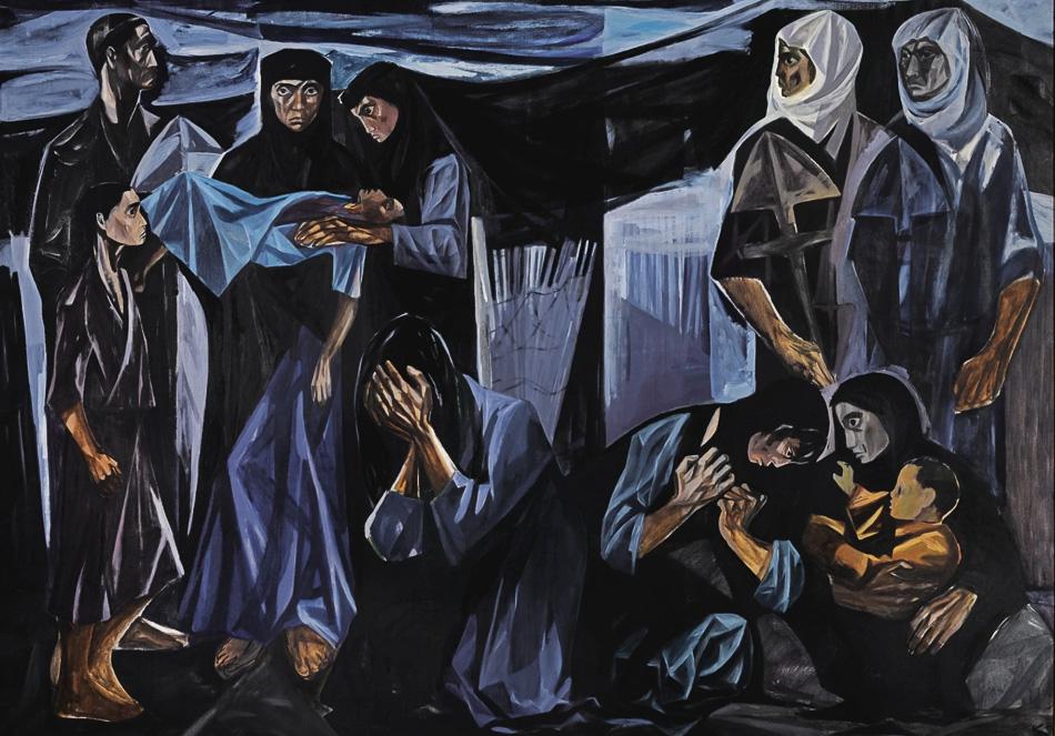 Mahmoud Sabri (Iraq), Death of a Child, 1963.