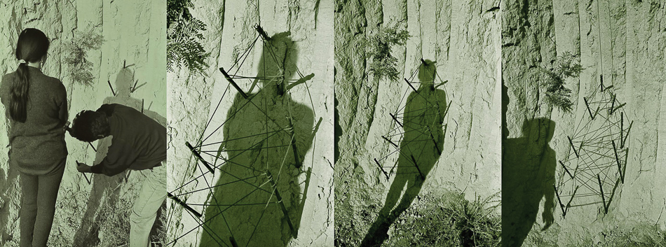 Gulnara Kasmalieva and Murat Djumaliev (Kyrgyzstan), Shadows, 1999.
