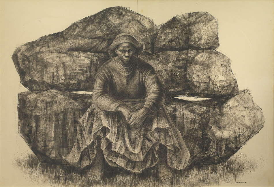 Charles White (Estados Unidos), General Moses (Harriet Tubman), 1965.