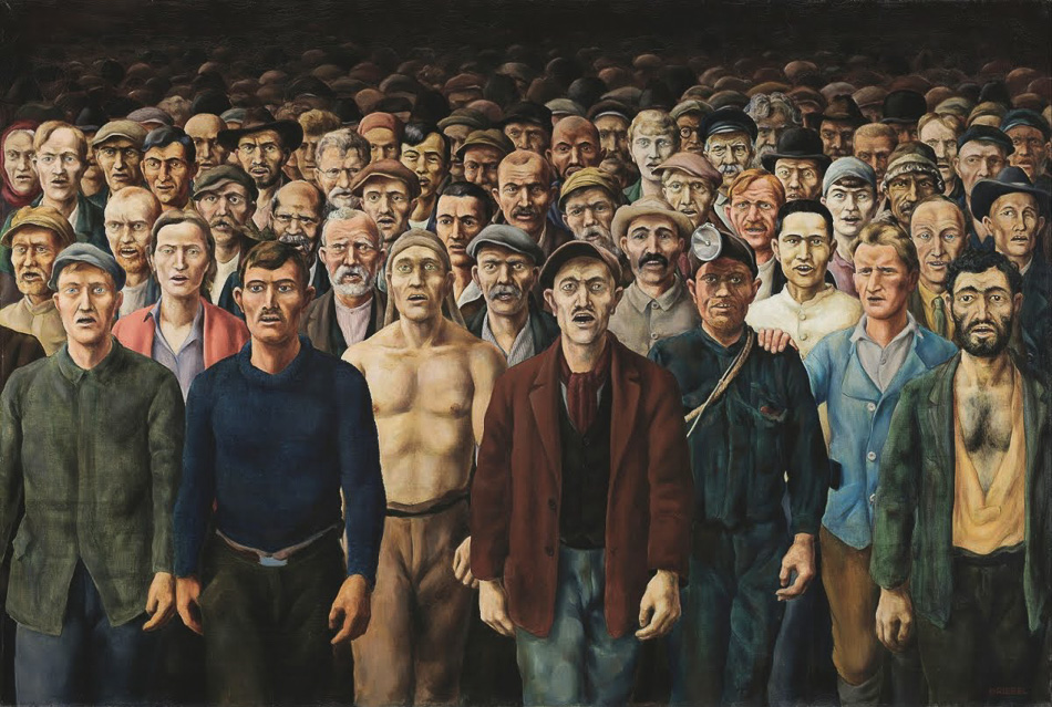Otto Griebel (Alemania), The Internationale, 1929/30.